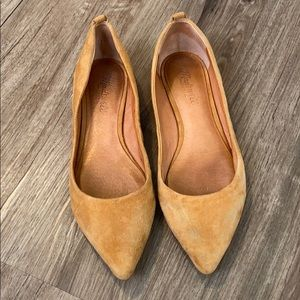Madewell Pointed Toed Flats 8.5